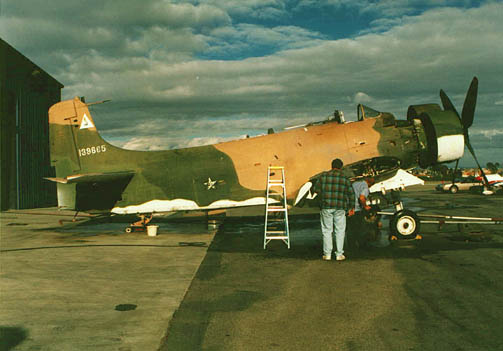 Skyraider Warbirds - AD-6 (A-1H) BuNo 139665